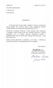 Referencje SABEX