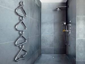 Grzejnik ozdobny - łazienka